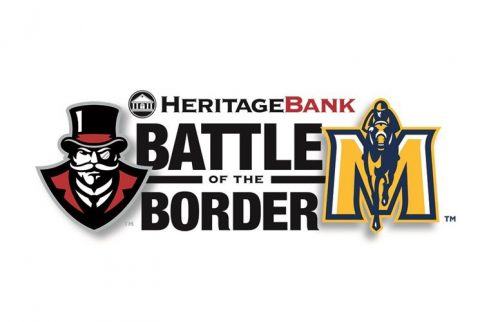 Austin Peay, Murray State Battle of the Border. (APSU Sports Information)