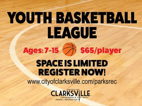Clarksville Parks and Recreation's Youth Basketball League