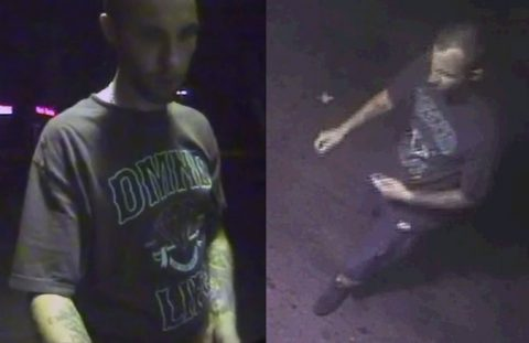 Clarksville Police are trying to identify the person in these photos.