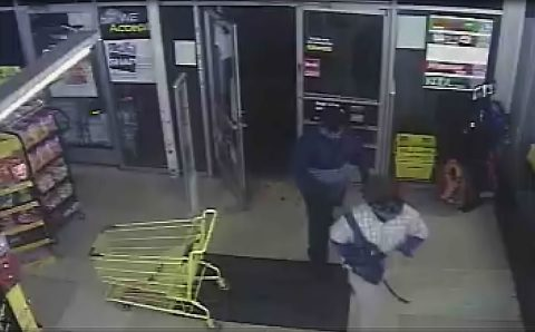Clarksville Police are looking to identify the armed robbery suspects in this photo.