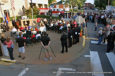Clarksville Remembers 9-11 Sunday