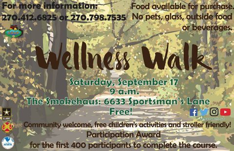 Fort Campbell 2016 Wellness Walk