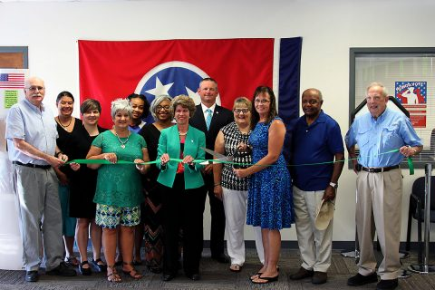 Green Ribbon Cutting Ceremony for Montgomery County Election Commission