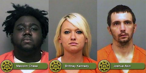 Montgomery County Sheriff's Office Warrant Wednesday focuses on Malcolm Chase, Brittney Kennedy, and Joshua Akin.