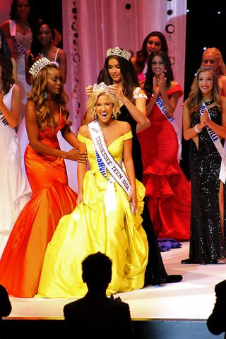 Savannah Chrisley is crowned Miss Tennessee Teen USA 2016 at Austin Peay State University in Clarksville, Tennessee in October, 2015.
