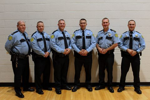 Montgomery County Sheriff's officers Shawn Butler, Nicolas Oakes, and Cameron Owens graduate from Law Enforcement Academy.