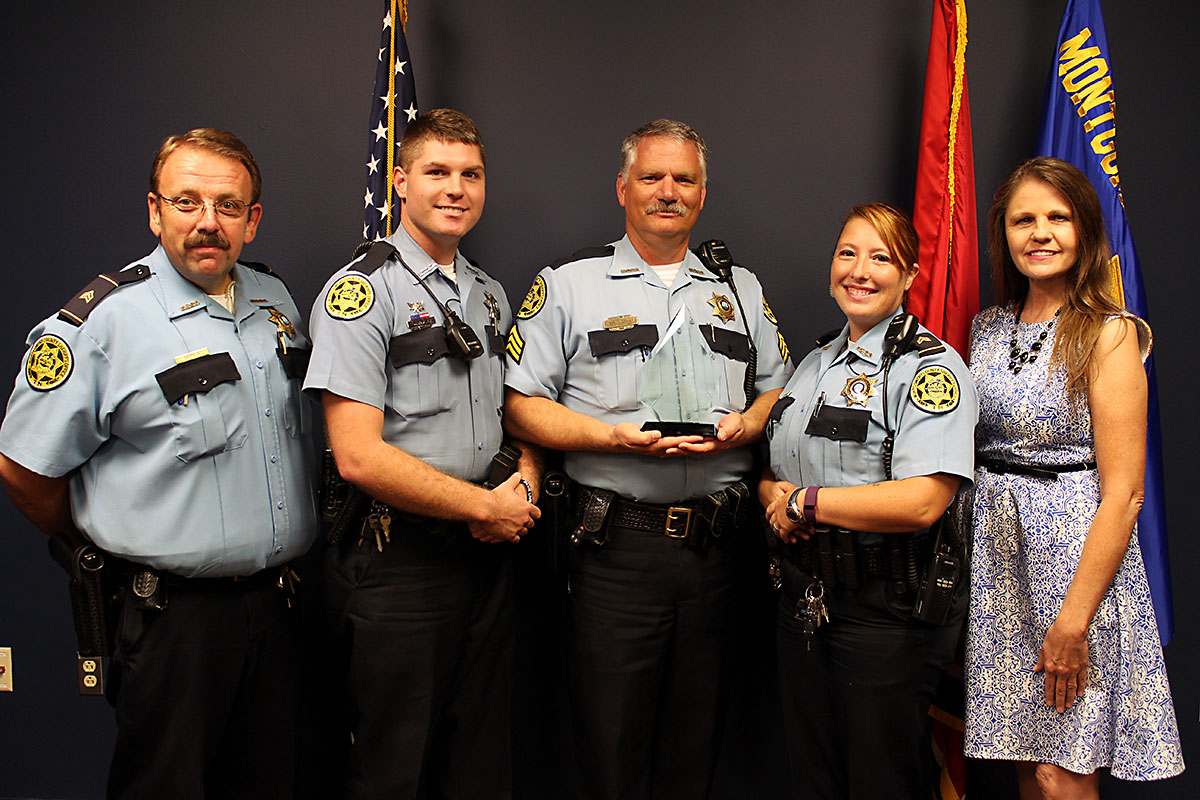Montgomery County Sheriff's Office placed 3rd in the Tennessee Law Enforcement Challenge.