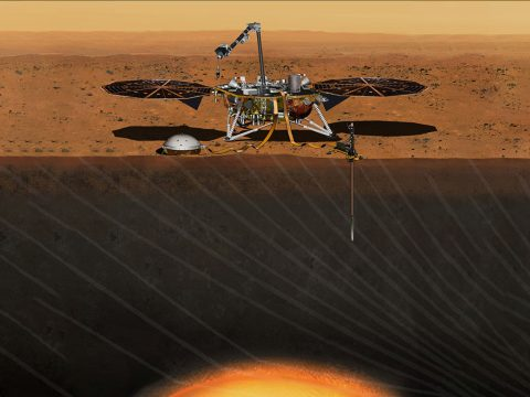 NASA has set a new launch opportunity, beginning May 5, 2018, for the InSight mission to Mars. InSight is the first mission dedicated to investigating the deep interior of Mars. (NASA/JPL-Caltech)