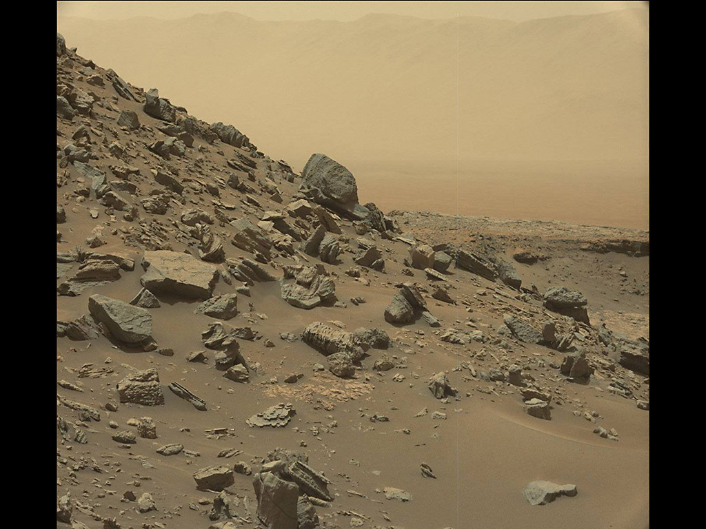 path curiosity rover gale crater - photo #23