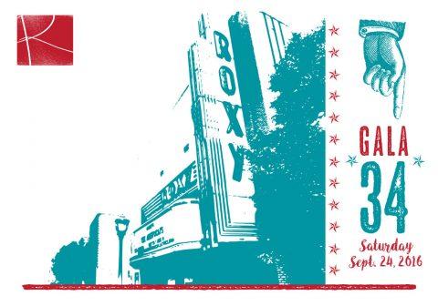 Roxy Regional Theatre's GALA 34 set for Saturday, September 24th.