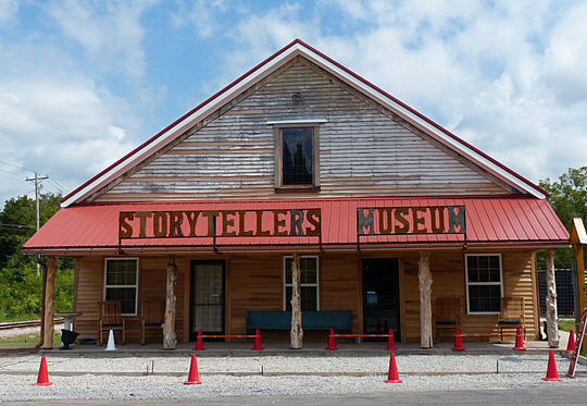 The recently renovated Storytellers Museum in Bon Aqua, Tennessee.