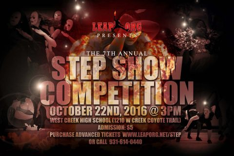 LEAP's 7th Annual Step Show Competition