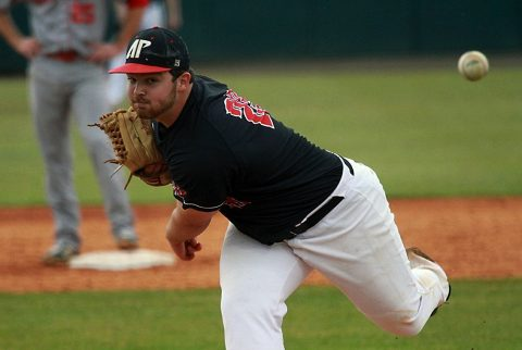 Black Teams wins Saturday in Austin Peay Baseball's Red-Black Series. Series tied one all. (APSU Sports Information)
