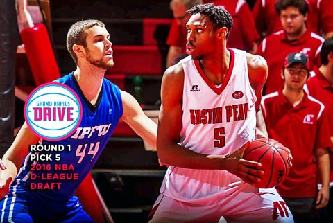 Former Austin Peay Basketball player Chris Horton picked in the first round of NBA Development Draft, Sunday. (APSU Sports Information)