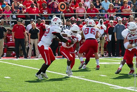Austin Peay Football shows improvement in 34-14 defeat to Jacksonville State, Saturday. (APSU Sports Information)
