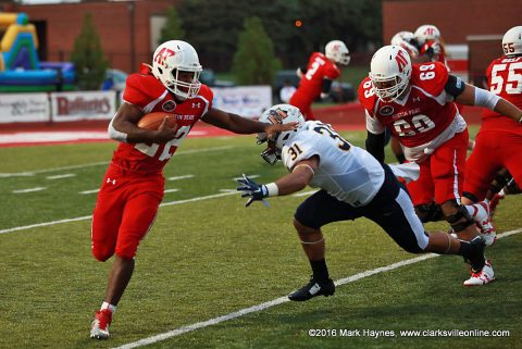 Austin Peay Governors hosts Mercer at Fortera Stadium for Homecoming.