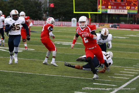 Austin Peay sophomore quarterback Tommy Hays' Record Setting Start Overshadowed in Govs Loss to Racers Saturday.
