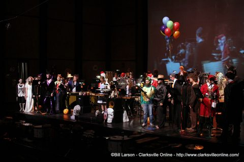 APSU Department of Music's Halloween Percussion Concert.
