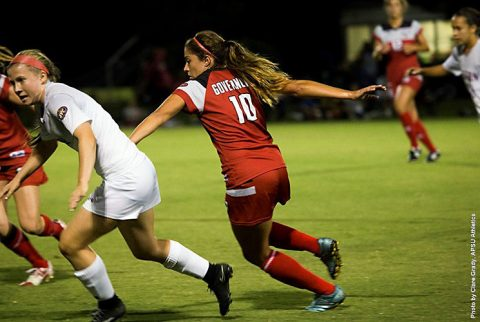 Austin Peay Soccer takes down Eastern Kentucky at home Thursday night. (APSU Sports Information)
