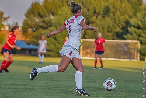 Austin Peay Soccer remains undefeated in OVC play with Tennessee Tech tie Sunday. (APSU Sports Information)
