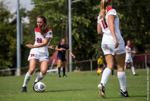 Austin Peay Soccer loses Sunday 1-0 at Eastern Illinois. (APSU Sports Information)