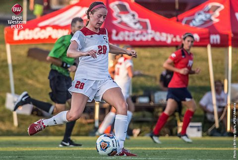 APSU Soccer plays Belmont, Jacksonville State at home this weekend. (APSU Sports Information)