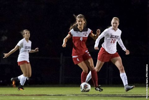 Austin Peay Soccer gets home win over Belmont Friday night. (APSU Sports Information)