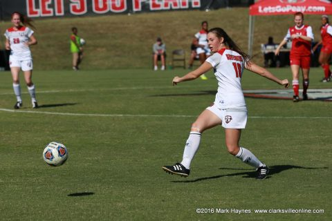 Austin Peay Soccer plays Murray State at home Thursday night in Battle of the Border.