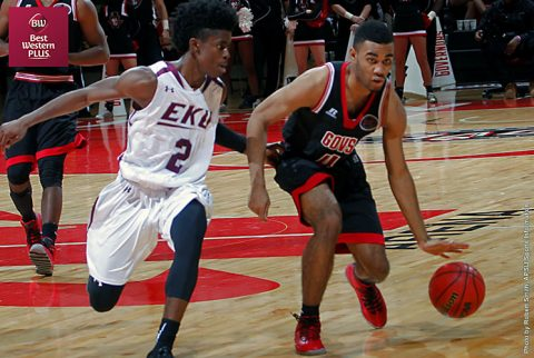Austin Peay junior guard Josh Robinson scored 53 points in the Governors two exhibition contests. (APSU Sports Information)