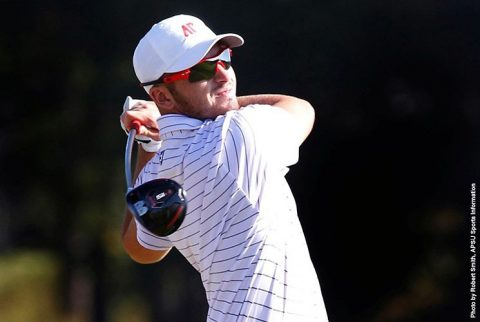 Austin Peay Men's Golf sits in sixth at F&M Bank APSU Intercollegiate. (APSU Sports Information)