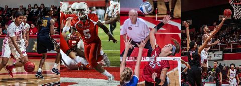 Upcoming week sees home games for Austin Peay Men's Basketball, Women's Basketball, Volleyball and Football.
