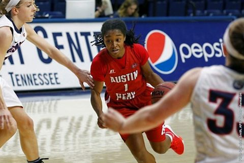 Former Austin Peay Womens Basketball guard Tiasha Gray. (APSU Sports Information)