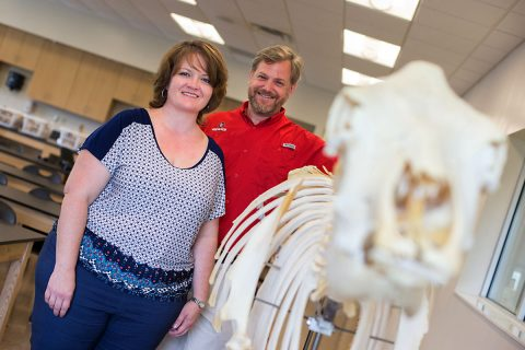 Austin Peay Veterinary Technology Program.  (Cassidy Graves, APSU)