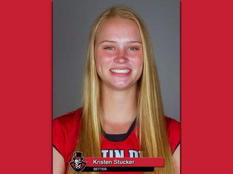 APSU Volleyball Kristen Stucker