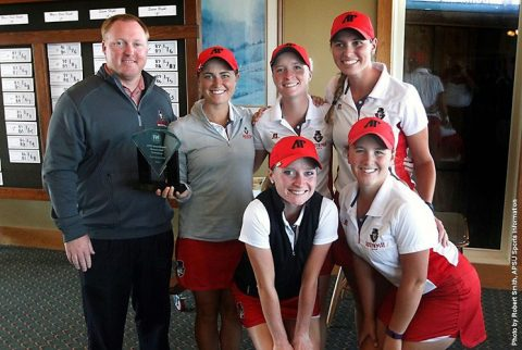 Austin Peay Golf finishes 2016 F&M Bank APSU Intercollegiate in 2nd place. (APSU Sports Information)