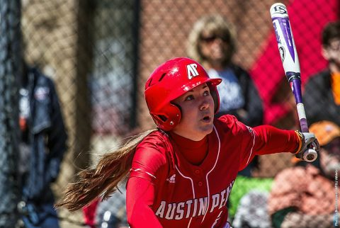 Austin Peay Softball loses two games Saturday at Trevecca. (APSU Sports Information)