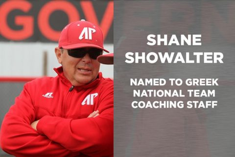 APSU Softball's Shane Showalter added to Greek National coaching staff. (APSU Sports Information)