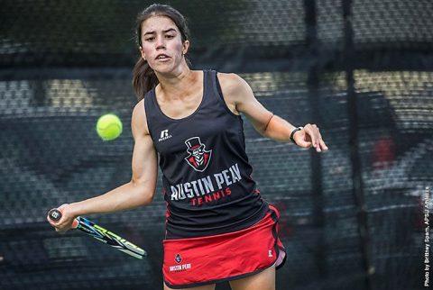 Austin Peay Womens Tennis' Lidia Yanes Garcia. (APSU Sports Information)
