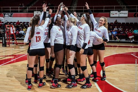 Austin Peay Volleyball faces Alabama A&M at home before hitting the road to take on UT Martin, Southeast Missouri. (APSU Sports Information)