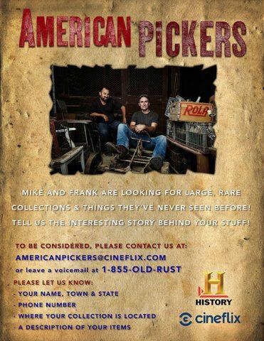 American Picker Flyer