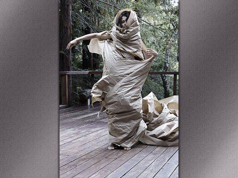 Paper Dance - Artist Janine Antoni.