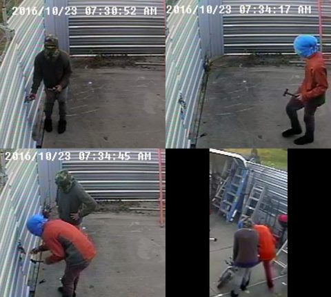 If anyone can identify the burglary suspects in these photos, please call Detective Jobe at 931.648.0656 Ext 5269