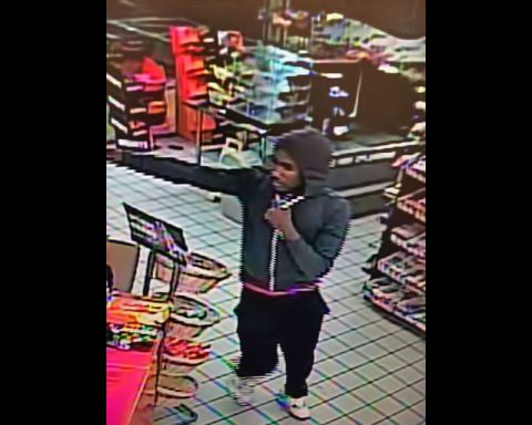 Clarksville Police are looking for Marathon Gas Station Aggravated Robbery Suspect