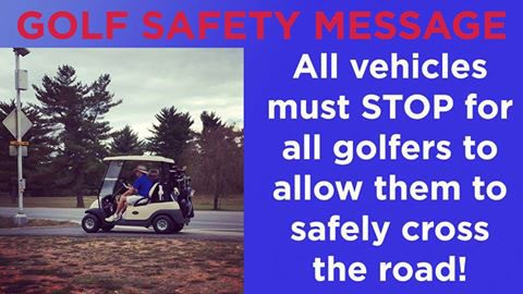 Fort Campbell's Cole Park Golf Course releases Golf Safety Message