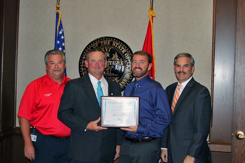 Montgomery County gets GNRC Award for Fort Campbell Soldier Transition and Local Retention Program.