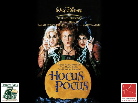"""Hocus Pocus' kicks off the ""Planters Bank Presents..."" film series this Sunday at Roxy Regional Theatre."