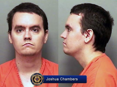 Joshua Chambers arrested for the shooting death of Richard Gibeau.