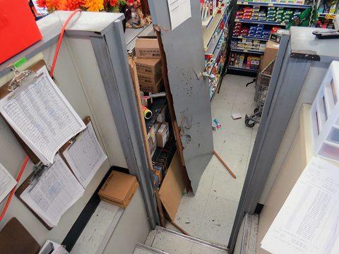 Fred's Office Door.