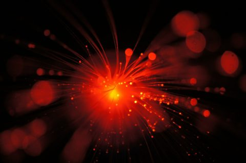 New study tests quantum teleportation in a city's fiber network for the first time. (Félix Bussières/University of Geneva)