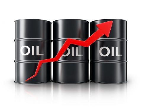 Crude oil trades at highest prices of the year.